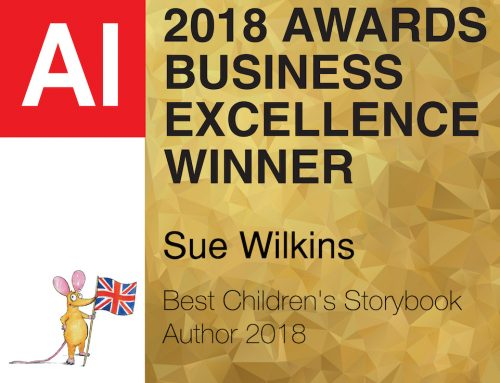 Sue wins Children's Author Award